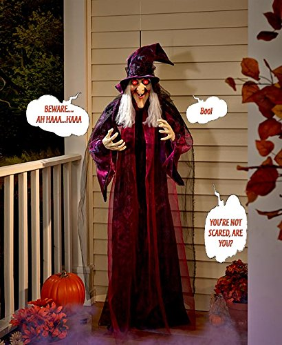 71-Life-Size-Hanging-Animated-Talking-Witch-Halloween-Haunted-House-Prop-Decor