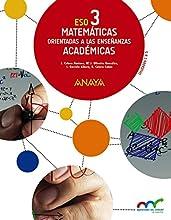 Matemáticas orientadas a las enseñanzas académicas 3. (Aprender es crecer en conexión)