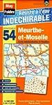 Meurthe-et-Moselle (54). Carte D�part...
