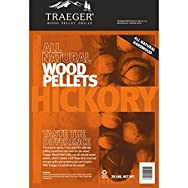 Traeger Industries PEL304 Wood Barbeque Pellets-20LB HICKORY PELLETS