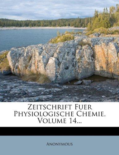 Zeitschrift Fur Physiologische Chemie.
