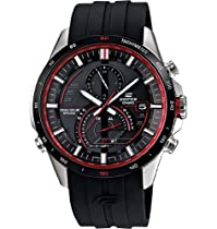Casio Edifice Solar Chronograph Black Dial Stainless SteelEQS-A500B-1AVCR