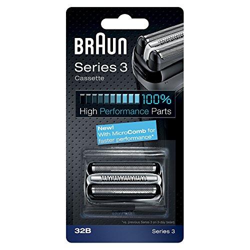 Braun 32b Ersatzscherteil Kombipack für Elektrorasierer der Series 3