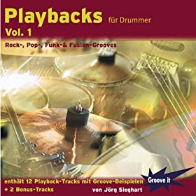 Playbacks f�r Drummer Vol. 1