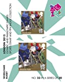 London 2012 Olympic and Paralympic Games sports Stamp and Pin Collection - WHEELCHAIR RUGBY (No.23 in a set of 30)