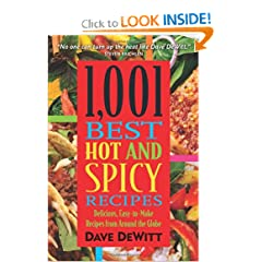1,001 Best Hot and Spicy Recipes by Food Drying Books