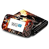 Batman The Dark Knight Rises Decorative Decal Cover Skin for Nintendo Wii U Console and GamePad