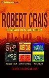 Robert Crais CD Collection 3: Voodoo River, Sunset Express, Indigo Slam (Elvis Cole/Joe Pike Series)