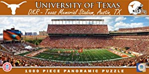 Buy MasterPieces Puzzle Company NCAA Texas Longhorns Stadium Panoramic Jigsaw Puzzle (1000-Piece) by MasterPieces Puzzle Company