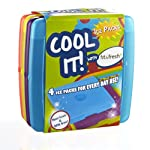 Cool Coolers Multicolored Ice Packs (4 Pack)