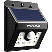 Mpow LED Solar Light Bright Security Lighting Outdoor Motion Sensor