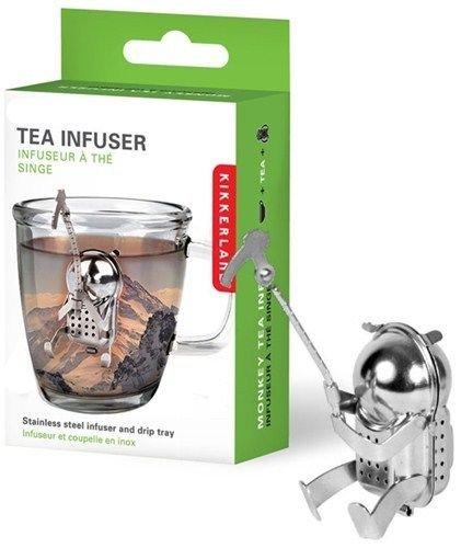 Cliff Climber Tea Infuser Loose Leaf Leaves Stainless Steel Steeper Strainer
