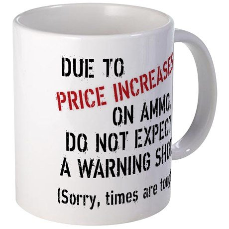 DUE TO PRICE INCREASES... - 11-oz Gun NRA 2nd Amendment Coffee Mug Cup Made of White Ceramic with Large Handle is Perfect Gift Idea for your Rifle or Pistol Loving Dad, Mom, Brother, Sister, Grandpa, (Nra Cup compare prices)