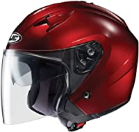HJC Helmets IS-33 Helmet (Wine, X-Large) from HJC Helmets