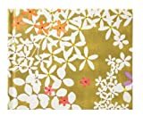 ナカバヤシ Caspari カスパリ ブックタイプアルバム 100年台紙 ミニサイズ フローラルゴールド ミニB-100-012-50