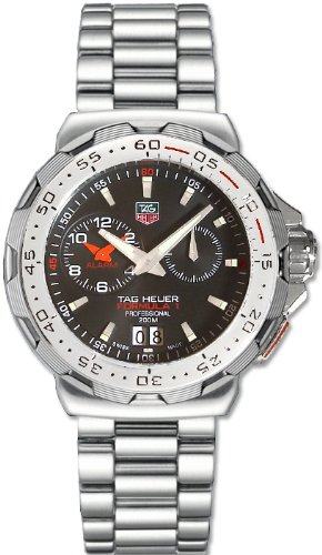 Tag Heuer Tag Heuer Men's Thwah111cba0850 Formula 1 Indy 500 Black Dial Watch