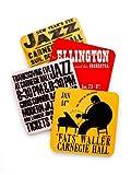 Carnegie Hall Jazz Coasters Set