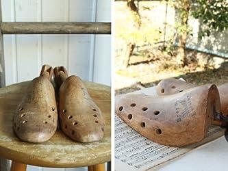 英国(イギリス)アンティーク◇古いシューモールド/シューツリー/靴型(a0800173-3)
