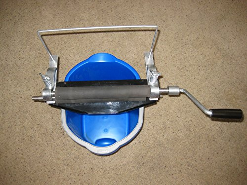 Universal Bucket/pail Wringer Detail Shop Garage Auto Rv Chamois Towel Wall or Floor Mount (Hand Crank Wringer compare prices)