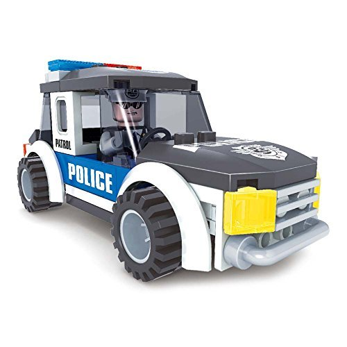 Brictek 21003 Police Jeep