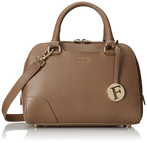 Furla Dolly Small Satchel, Color Daino Beige, One Size