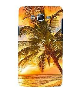 printtech Nature View Beach Sunrise Back Case Cover for Samsung Galaxy J1::Samsung Galaxy J1 J100F