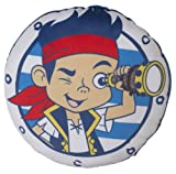 Character World Disney Jake and The Never Land Pirates Doubloons Shaped Cushion