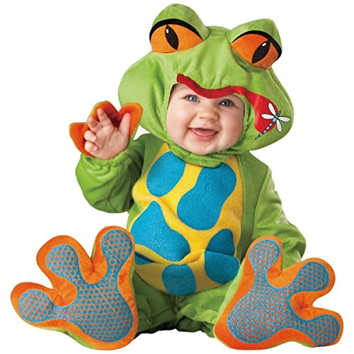 [GSG Baby Frog Costume Cute Deluxe Halloween Fancy Dress] (Toddler Lil Ninja Costumes)