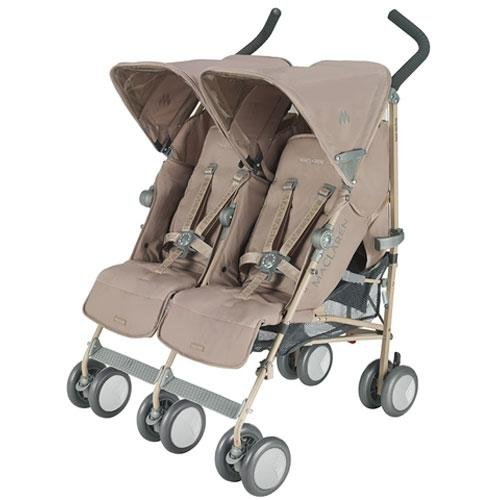 maclaren twin techno stroller champagne car seat and stroller. Black Bedroom Furniture Sets. Home Design Ideas