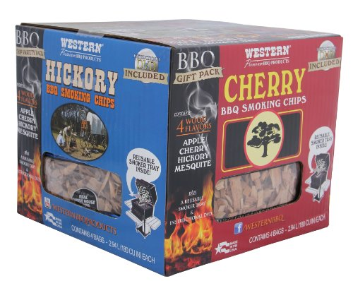 Western 80484 Bbq Smoking Chip Variety Pack