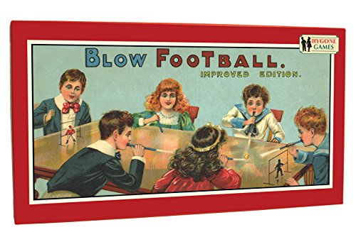 Cheatwell Games Bygone Days Blow Football Game. Remember playing this back in the day?