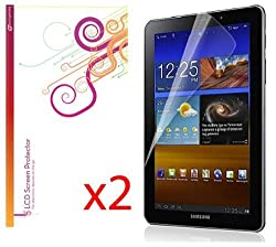 rooCASE 2-Pack HD Invisible Screen Protector Film for Samsung GALAXY Tab 7.7 P6800 Tablet - Lifetime Replacement...