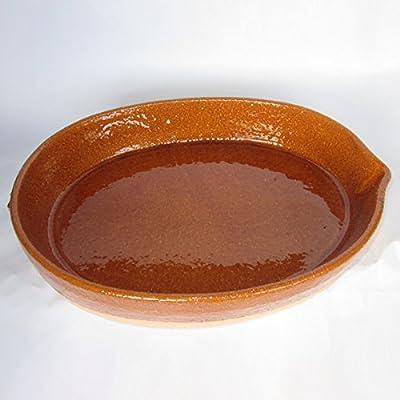 Spanish Oval Paella Cazuela From Pereruela - Small
