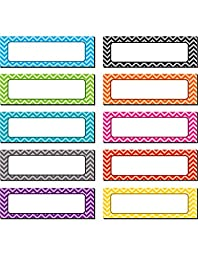 Teacher Created Resources Chevron Labels Magnetic Accents (77204.0)