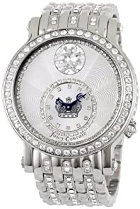 Juicy Couture Women's 1900767 Queen Couture Stainless Steel Bracelet Watch