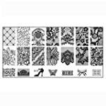 Doinshop 1PC Nail Art DIY Nail Stamp...