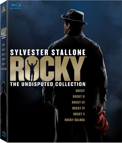 Cover art for  Rocky: The Undisputed Collection (Rocky / Rocky II / Rocky III / Rocky IV / Rocky V / Rocky Balboa) [Blu-ray]