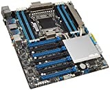 Asus P9X79-E WS Workstation Motherboard (Socket 2011, Intel X79, DDR3, S-ATA 600, CEB, 4 x PCIe 3.0/2.0x16, 2x Gigabit LAN Controllers)