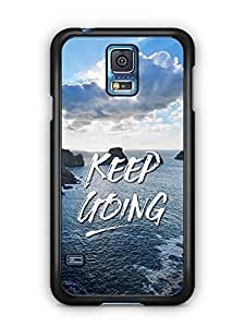YuBingo Keep Going Designer Mobile Case Back Cover for Samsung Galaxy S5