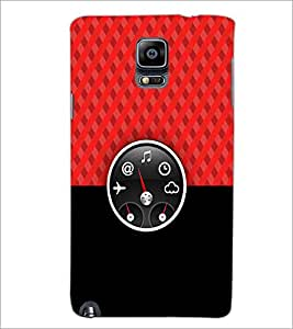 PrintDhaba Funny Meter D-3490 Back Case Cover for SAMSUNG GALAXY NOTE 3 (Multi-Coloured)