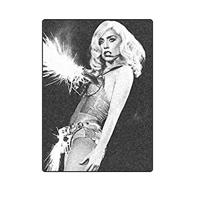 Lady Gaga Custom Unique Fleece Throw Blanket Size 58X80 Inches