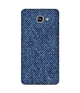 Denim Back Cover Case for Samsung Galaxy A9