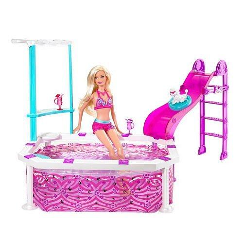 Mattel T2333 Barbie Glam Pool mit Puppe