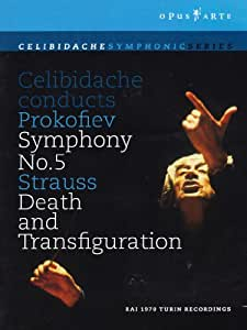 Celibidache Conducts Prokofiev Symphony No. 5/Strauss Death and Transfiguration [Import]