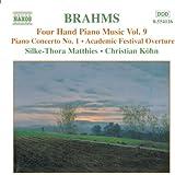 Brahms: Four-Hand Piano Music, Vol. 9