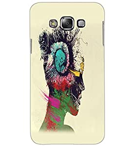 SAMSUNG GALAXY GRAND MAX MUSIC GIRL Back Cover by PRINTSWAG