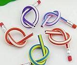 (CHOUCHOU) 子供 が喜ぶ 曲がる 鉛筆 30本 50本 セット 子供会 パーティー イベント の 景品 粗品 に最適 (50本)
