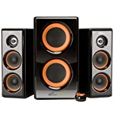 Eagle Arion ET-AR506-BK 2.1 Soundstage Speakers with Dual Subwoofers - 20Hz to 20kHz, 100 Watts