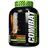 Muscle Pharm Combat Powder Advanced Time Release Protein, Chocolate Milk, 4-Pound Tub