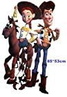 33 Toy Story Woody Jessie Bullseye Disney Giants HUGE Xlarge Wall Stickers Childrens/kids Home - Decors Mural Art Nursery Decal (Decowall-stickers)